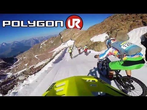 Megavalanche Glacier Carnage   Polygon UR   Jamie Nicoll