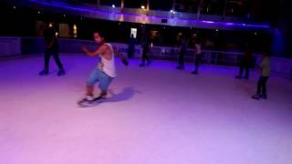 Freestyle ice skating dancer #iskate