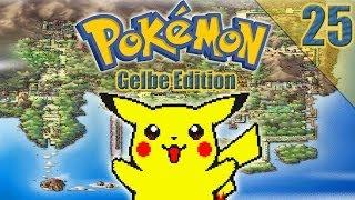 Let's Play Pokemon Gelb (Part 25) - Der giftige Ninja Meister
