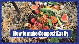 How to make Compost | Easy Way to make Compost | 2016 ( Urdu/ Hindi / English Subtitles )