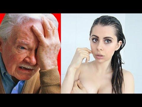 Grandpa Reacts to my videos ...