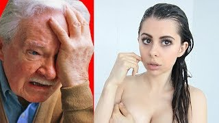 Grandpa Reacts to my videos ...