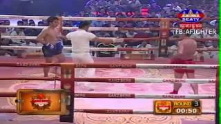 Khmer Thai Boxing, Bird Kham Vs Phong Sari Thai 19 July 2015