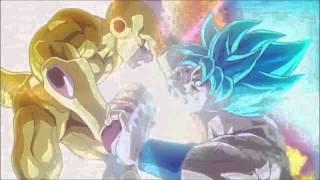 Dragon Ball Z Resurrection F Super Saiyan God Super Saiyan Goku vs Golden Frieza (English Sub)