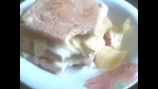Lays French Cheese Chips Sandwich.3gp
