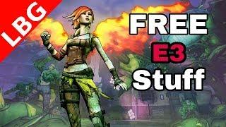 Free Stuff from E3