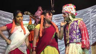 Village Stage Dance Show in Telugu   Village Girls Dance Show