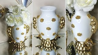 Diy Glam High End Elephant Vase! Simple, Quick and Inexpensive!