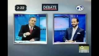 Edwin Zamora vs Nayib Bukele - Debate (RESUMEN)