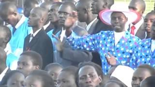 BRO SAMUEL  lead worship at Eldoret sports Ground