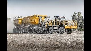 Dramis D150T (Kenworth C500 - 10X10) -  Off Road Mining truck