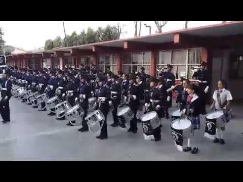 banda de guerra escuela secundaria tecnica 20 el nigromante