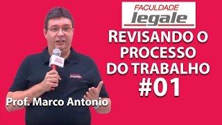 # 1/7 - REVISANDO O PROCESSO DO TRABALHO - COMPETÊNCIAS DA JUSTIÇA DO TRABALHO