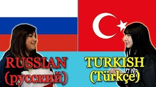 Similarities Between Russian and Turkish