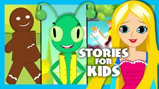 Short Stories For Kids In English | Moral Stories For Kids | The Gingerbread Man Song