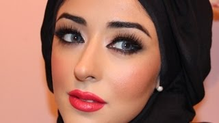 Adriana Lima Makeup Tutorial ماكياج العربي