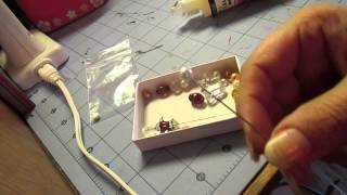 How to make a stick pin EASY and Fast It's just that simple Tutorial