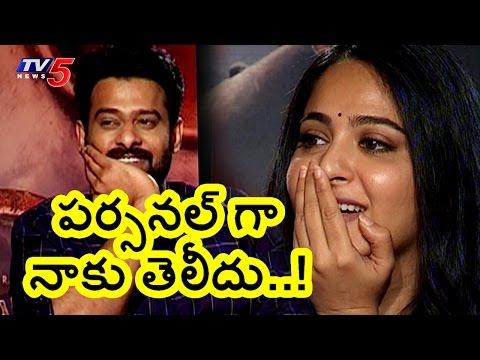 Xxx Mp4 No Change In Anushka Behavior Prabhas About Anushka Shetty TV5 News 3gp Sex