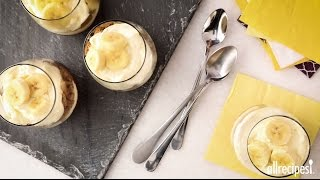 How to Make Banana Pudding Parfaits | Dessert Recipes | AllRecipes