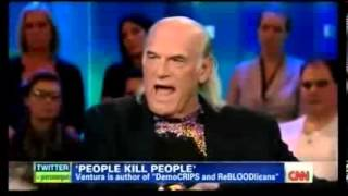 Piers Morgan Owned by Jesse Ventura, over and over