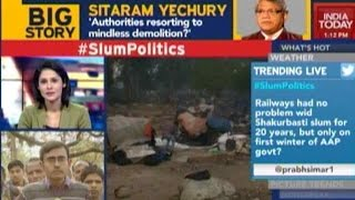 Child Died Before Shakur Basti Demolition: Railway Minister