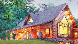 Engineered Logs Explained | Timberhaven Log and Timber Homes