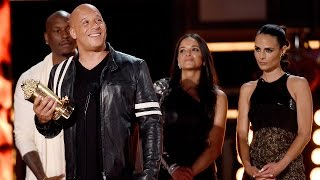 Vin Diesel Pays Tribute to Paul Walker For Generation Award Speech at MTV Movie & TV Awards