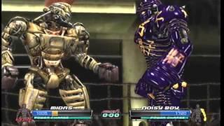 gigantes de acero 4 peleas