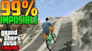 99% IMPOSIBLE EN UNA... ¿¡CASCADA!? - Gameplay GTA 5 Online Funny Moments