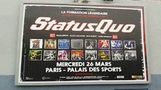 STATUS QUO (Frantic Four) PARIS