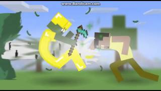 Minecraft:Angel with a shotgun