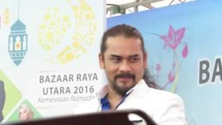 Awie | Musafir Di Aidilfitri | Bazaar Ramadhan Utara 2016