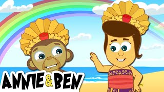 Tropical Treasures | Cartoons for Children by The Adventures of Annie and Ben!