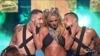 Britney Spears - Work Bitch - Toxic - iHeartRadio Music Festival