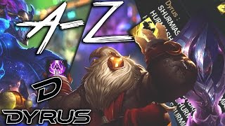 BARD TOP NOT BAD?! • Dyrus A-Z Ep #3 (Aurelion Sol - Bard)