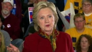 Hillary Clinton campaigns in Pennsylvania