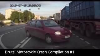 Brutal Motorcycle Crash Compilation #1