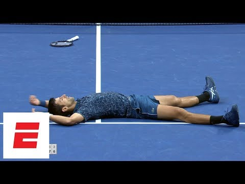 Xxx Mp4 2018 US Open Highlights Novak Djokovic Defeats Juan Martín Del Potro In Straight Sets To Win ESPN 3gp Sex