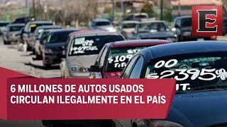 Iniciativa para legalizar autos usados en el país