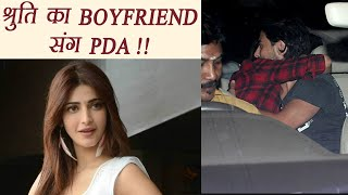 Shruti Haasan SPOTTED with Boyfriend Michael Corsale; Watch | FilmiBeat