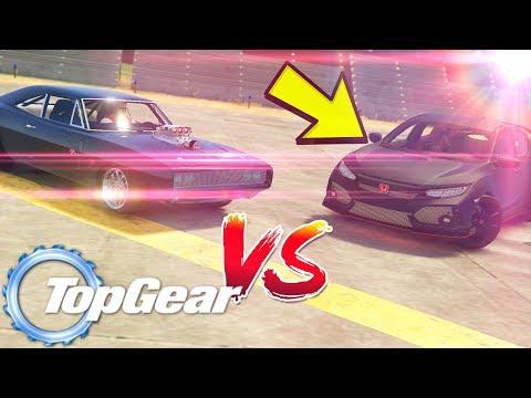 GTA V: TopGear | MAQUINA MORTIFERA do TJ VS SUPER Terror da Meia Noite ( Mauricio )