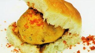 वडा पाव  | Vada Pav Recipe by madhurasrecipe | Mumbai Vad Pav | How to make Batata Vada Chutney