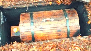 He Was Exploring The Woods When His Metal Detector Sounded Then He Dug Up This Mysterious Chest