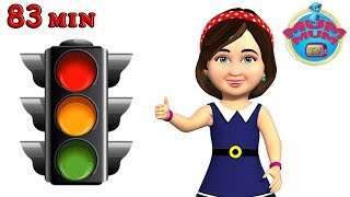Traffic Light Poem, Wheels on the bus and more English Nursery Rhymes Songs for Kids | Mum Mum TV