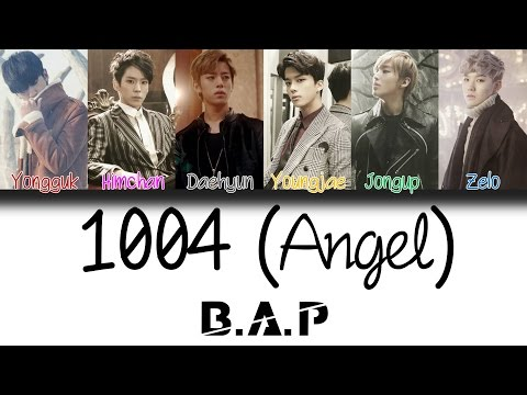 B.A.P (비에이피) - 1004 (Angel) | Han/Rom/Eng | Color Coded Lyrics |