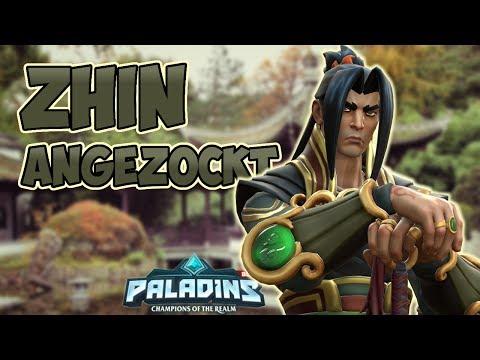 ZHIN angezockt - PALADINS - Gameplay [Deutsch German Lets Play]