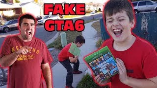 Kid Temper Tantrum Over Daddy's Fake GTA 6 Game Prank [ Original ]