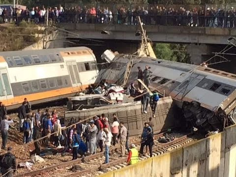 Plusieurs morts dans le déraillement d'un train à Bouknadel