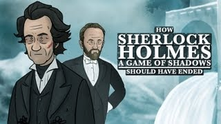 How Sherlock Holmes: Game of Shadows Should Have Ended