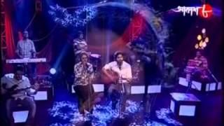 Joy Sarkar,Anwesha duet 'jaan-e-jaan',gaandariya(Akash-8)